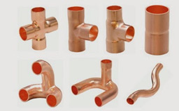 Copper Air Conditioner Tripod Fittings