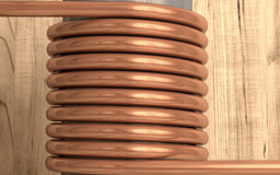 Copper Alloy Tube Coil